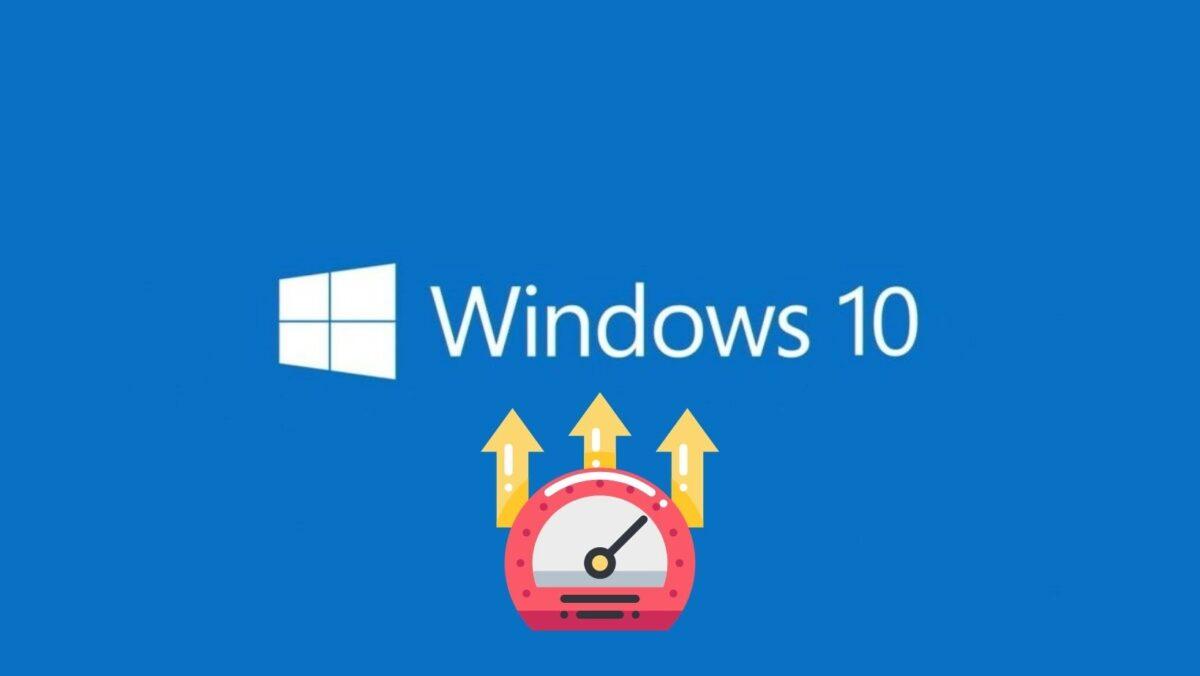 windows 10 gyorsítása