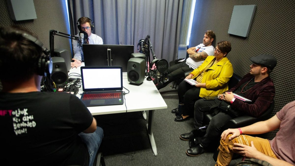 Podcast szoba KraftLab