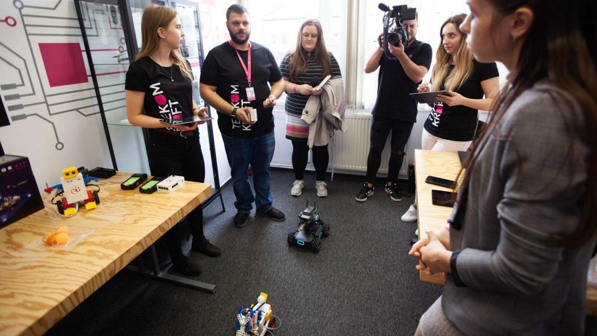 Robotika szoba KraftLab